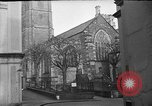 Image of United States Coast Guard personnel march in formation to Sunday service at a church England United Kingdom, 1944, second 10 stock footage video 65675051454