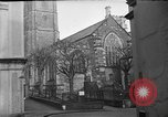 Image of United States Coast Guard personnel march in formation to Sunday service at a church England United Kingdom, 1944, second 11 stock footage video 65675051454
