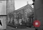 Image of United States Coast Guard personnel march in formation to Sunday service at a church England United Kingdom, 1944, second 12 stock footage video 65675051454