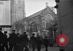 Image of United States Coast Guard personnel march in formation to Sunday service at a church England United Kingdom, 1944, second 16 stock footage video 65675051454
