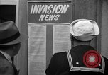 Image of News about the Allied invasion of Normandy United States USA, 1944, second 18 stock footage video 65675051456