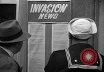 Image of News about the Allied invasion of Normandy United States USA, 1944, second 22 stock footage video 65675051456