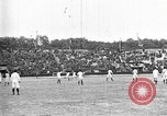 Image of France versus Romania soccer game in 1919 Paris France, 1919, second 2 stock footage video 65675051496