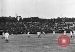 Image of France versus Romania soccer game in 1919 Paris France, 1919, second 3 stock footage video 65675051496