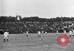 Image of France versus Romania soccer game in 1919 Paris France, 1919, second 4 stock footage video 65675051496
