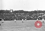 Image of France versus Romania soccer game in 1919 Paris France, 1919, second 5 stock footage video 65675051496