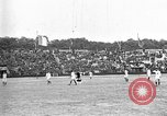 Image of France versus Romania soccer game in 1919 Paris France, 1919, second 6 stock footage video 65675051496
