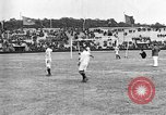 Image of France versus Romania soccer game in 1919 Paris France, 1919, second 7 stock footage video 65675051496