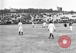 Image of France versus Romania soccer game in 1919 Paris France, 1919, second 8 stock footage video 65675051496