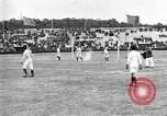 Image of France versus Romania soccer game in 1919 Paris France, 1919, second 9 stock footage video 65675051496