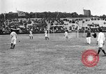 Image of France versus Romania soccer game in 1919 Paris France, 1919, second 10 stock footage video 65675051496