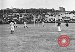 Image of France versus Romania soccer game in 1919 Paris France, 1919, second 11 stock footage video 65675051496