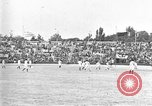 Image of France versus Romania soccer game in 1919 Paris France, 1919, second 12 stock footage video 65675051496