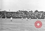 Image of France versus Romania soccer game in 1919 Paris France, 1919, second 13 stock footage video 65675051496