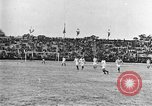 Image of France versus Romania soccer game in 1919 Paris France, 1919, second 16 stock footage video 65675051496