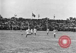 Image of France versus Romania soccer game in 1919 Paris France, 1919, second 17 stock footage video 65675051496