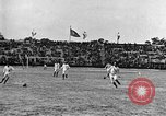 Image of France versus Romania soccer game in 1919 Paris France, 1919, second 18 stock footage video 65675051496