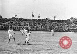 Image of France versus Romania soccer game in 1919 Paris France, 1919, second 19 stock footage video 65675051496