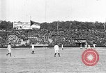 Image of France versus Romania soccer game in 1919 Paris France, 1919, second 20 stock footage video 65675051496