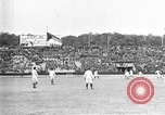 Image of France versus Romania soccer game in 1919 Paris France, 1919, second 21 stock footage video 65675051496