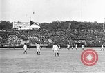 Image of France versus Romania soccer game in 1919 Paris France, 1919, second 23 stock footage video 65675051496