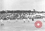 Image of France versus Romania soccer game in 1919 Paris France, 1919, second 24 stock footage video 65675051496