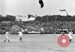 Image of France versus Romania soccer game in 1919 Paris France, 1919, second 26 stock footage video 65675051496