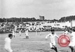 Image of France versus Romania soccer game in 1919 Paris France, 1919, second 27 stock footage video 65675051496
