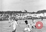 Image of France versus Romania soccer game in 1919 Paris France, 1919, second 28 stock footage video 65675051496