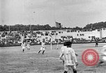 Image of France versus Romania soccer game in 1919 Paris France, 1919, second 29 stock footage video 65675051496