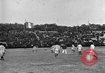 Image of France versus Romania soccer game in 1919 Paris France, 1919, second 30 stock footage video 65675051496