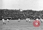 Image of France versus Romania soccer game in 1919 Paris France, 1919, second 31 stock footage video 65675051496