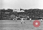 Image of France versus Romania soccer game in 1919 Paris France, 1919, second 32 stock footage video 65675051496