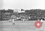 Image of France versus Romania soccer game in 1919 Paris France, 1919, second 33 stock footage video 65675051496