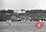 Image of France versus Romania soccer game in 1919 Paris France, 1919, second 34 stock footage video 65675051496