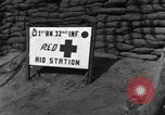 Image of 1st Battalion 32nd Infantry Korea, 1954, second 7 stock footage video 65675051532