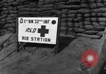 Image of 1st Battalion 32nd Infantry Korea, 1954, second 8 stock footage video 65675051532