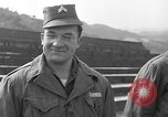 Image of United States soldiers Uijongbu South Korea, 1954, second 32 stock footage video 65675051548