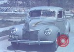 Image of Advertisement for smooth ride of 1939 Ford automobiles United States USA, 1939, second 19 stock footage video 65675051551