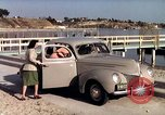 Image of Advertisement for smooth ride of 1939 Ford automobiles United States USA, 1939, second 39 stock footage video 65675051551