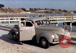 Image of Advertisement for smooth ride of 1939 Ford automobiles United States USA, 1939, second 40 stock footage video 65675051551