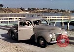 Image of Advertisement for smooth ride of 1939 Ford automobiles United States USA, 1939, second 42 stock footage video 65675051551