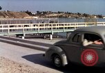 Image of Advertisement for smooth ride of 1939 Ford automobiles United States USA, 1939, second 45 stock footage video 65675051551