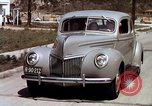 Image of Advertisement for smooth ride of 1939 Ford automobiles United States USA, 1939, second 48 stock footage video 65675051551