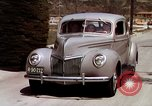 Image of Advertisement for smooth ride of 1939 Ford automobiles United States USA, 1939, second 49 stock footage video 65675051551