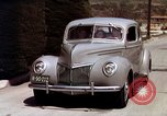 Image of Advertisement for smooth ride of 1939 Ford automobiles United States USA, 1939, second 50 stock footage video 65675051551