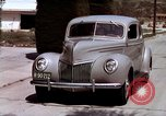Image of Advertisement for smooth ride of 1939 Ford automobiles United States USA, 1939, second 51 stock footage video 65675051551