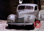 Image of Advertisement for smooth ride of 1939 Ford automobiles United States USA, 1939, second 54 stock footage video 65675051551