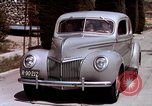 Image of Advertisement for smooth ride of 1939 Ford automobiles United States USA, 1939, second 55 stock footage video 65675051551
