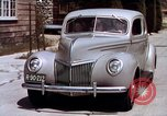 Image of Advertisement for smooth ride of 1939 Ford automobiles United States USA, 1939, second 56 stock footage video 65675051551